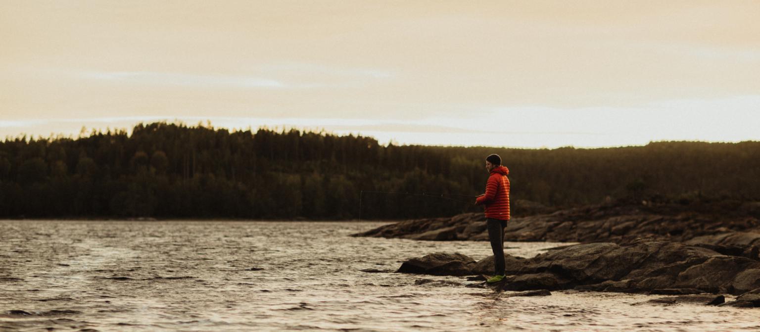 man fishing_hafsrød